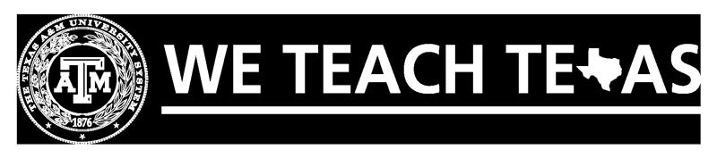 We Teach Texas